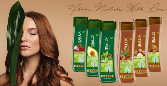 Belux launches New Natural Collection Shampoo